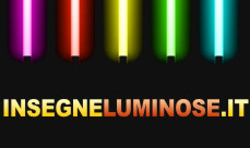 Insegne Luminose a in Italia by InsegneLuminose.it